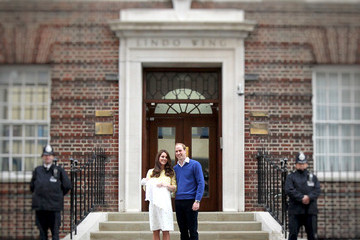 Kate Middleton Prince William An Alternative View: Duke And Duchess Of Cambridge Welcome Their Daughter