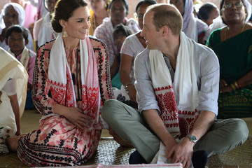 Kate Middleton Prince William The Duke and Duchess of Cambridge Visit India and Bhutan - Day 4