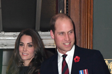 Kate Middleton Prince William Royal British Legion Festival of Remembrance At The Royal Albert Hall