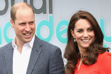 Kate Middleton Prince William The Duke & Duchess of Cambridge and Prince Harry Officially Open the Global Academy
