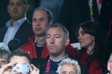Kate Middleton Prince William England v Wales - Group A: Rugby World Cup 2015