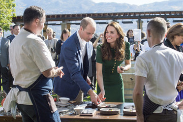 Kate Middleton Prince William 2016 Royal Tour to Canada of the Duke and Duchess of Cambridge - Kelowna, British Columbia And Whitehorse, Yukon