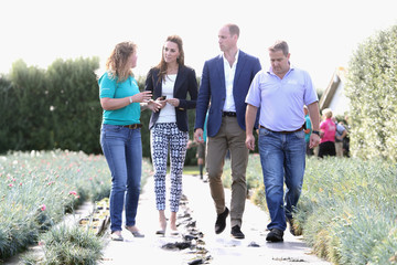 Kate Middleton Prince William The Duke and Duchess of Cambridge Visit the Isles of Scilly