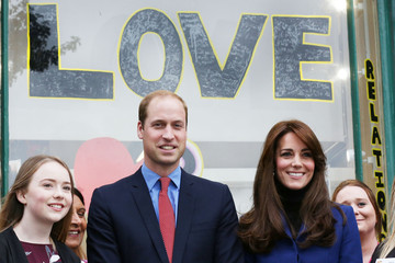Kate Middleton Prince William The Duke and Duchess of Cambridge Visit Dundee