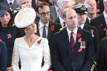 Kate Middleton Prince William Members Of The Royal Family Attend The Passchendaele Commemorations In Belgium