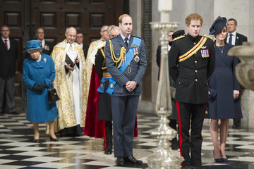Kate Middleton Queen Elizabeth II A Service of Commemoration for Troops in Afghanistan — Part 2