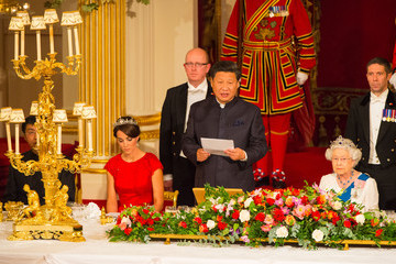Kate Middleton Queen Elizabeth II State Visit of the President of the People's Republic of China - Day 2