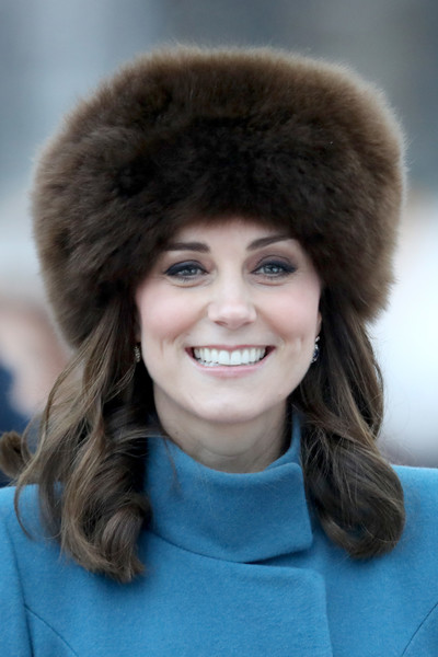 Kate Middleton Fur Hat