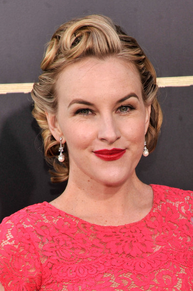 Kate Mulvany Red Lipstick
