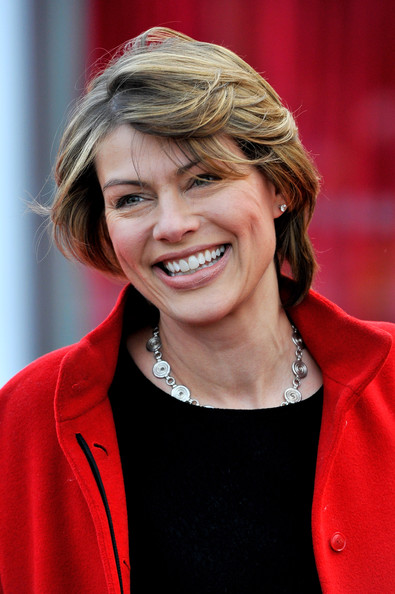 Kate Silverton Short Side Part [african cats,hair,face,facial expression,red,hairstyle,smile,blond,chin,layered hair,premiere,tusk,arrivals,kate silverton,aid,aid,uk,england,african cats - uk premiere,premiere]