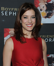 Actress Kate Walsh dazzled at the Launch of her fragrance with a layered shoulder length cut.