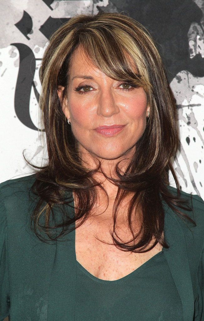 Katey Sagal Medium Layered Cut Katey Sagal Hair Looks