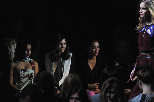 Diane Von Furstenberg - Front Row - Fall 2013 Mercedes-Benz Fashion Week