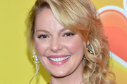 Katherine Heigl Side Swept Curls
