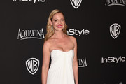 Katherine Heigl Strapless Dress