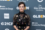 Katherine Langford Lace Dress