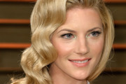 Katheryn Winnick Retro Hairstyle