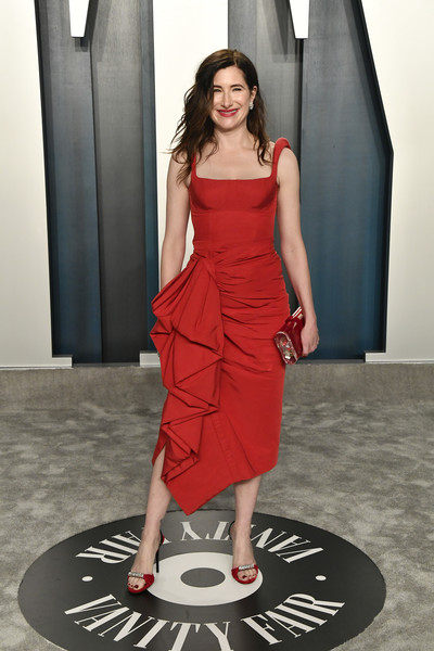 Kathryn Hahn Cocktail Dress [fashion model,clothing,dress,shoulder,red,fashion,photo shoot,lady,standing,joint,radhika jones - arrivals,radhika jones,kathryn hahn,beverly hills,california,wallis annenberg center for the performing arts,oscar party,vanity fair,jessica alba,photography,92nd academy awards,photo shoot,fashion,cocktail dress,star,supermodel,party,photograph]