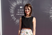 Kathryn Prescott Crop Top