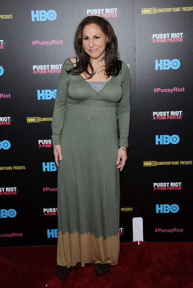 Kathy Najimy Maxi Dress