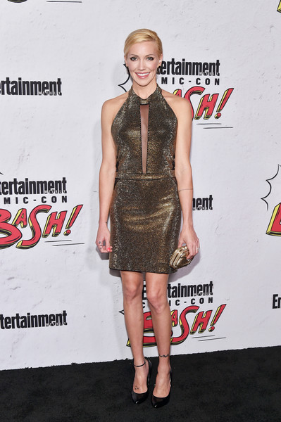 Katie Cassidy Halter Dress