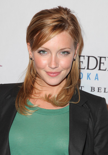 Katie Cassidy Long Side Part