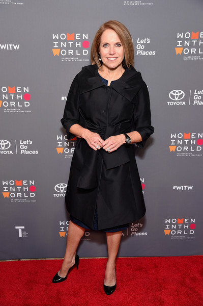 Katie Couric Evening Coat