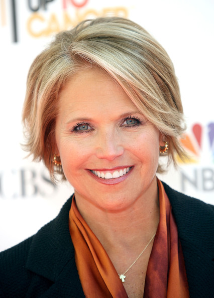 Katie Couric Bob [katie couric,arrivals,hair,blond,hairstyle,human hair color,eyebrow,chin,beauty,layered hair,smile,forehead,sony pictures studios,culver city,california,stand up to cancer]