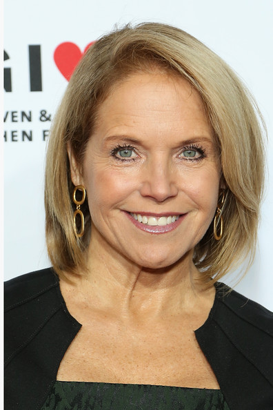 Katie Couric Bob [hair,face,hairstyle,blond,eyebrow,chin,lip,layered hair,forehead,bob cut,katie couric,the bob woodruff foundation present the 8th annual stand up for heroes event,new york city,madison square garden,stand up for heroes,new york comedy festival]
