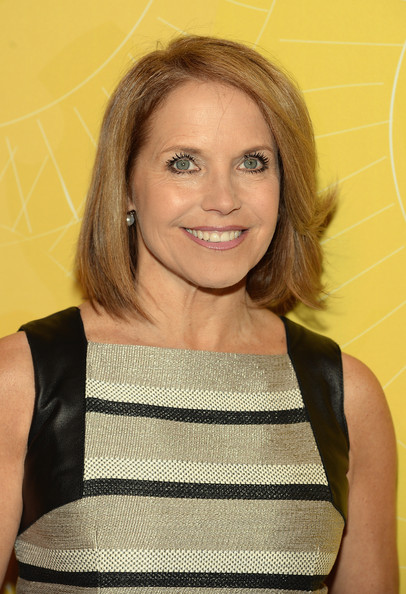 Katie Couric Hairstyle 2014
