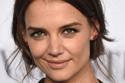 Katie Holmes Messy Updo