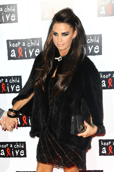 Katie Price Half Up Half Down