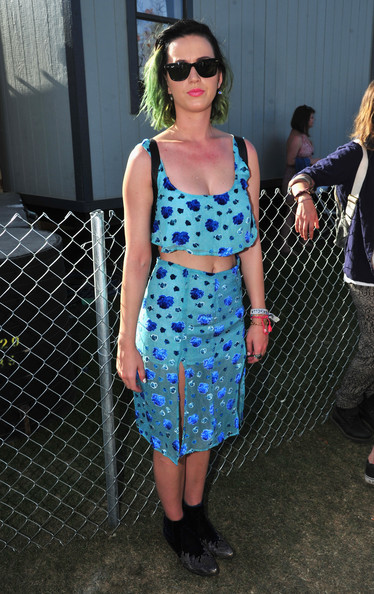 Katy Perry Ankle Boots [katy perry,clothing,eyewear,cobalt blue,dress,fashion,street fashion,sunglasses,polka dot,footwear,electric blue,coachella valley music and arts festival,music arts festival,coachella valley,indio,california,empire polo club]