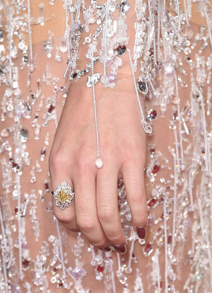 Katy Perry Diamond Ring [nail,finger,skin,hand,nail care,beauty,manicure,body jewelry,close-up,lip,arrivals,katy perry,grammy awards,staples center,los angeles,california,the 57th annual grammy awards]