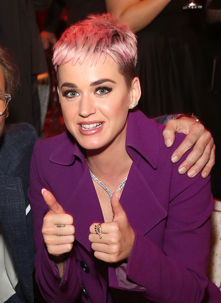 Katy Perry Gemstone Ring [westworld,hair,face,purple,hairstyle,finger,forehead,blond,pink,lip,event,katy perry,california,los angeles,hbo,premiere,season,party]