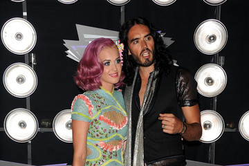 Katy Perry Russell Brand 2011 MTV Video Music Awards - Arrivals