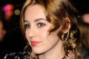 Keeley Hazell Bobby Pinned updo