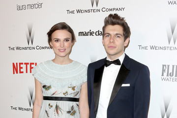 Keira Knightley James Righton Weinstein Company and Netflix Golden Globes Party