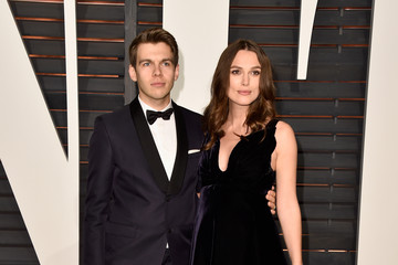 Keira Knightley James Righton Arrivals at the Elton John AIDS Foundation Oscars Viewing Party — Part 5