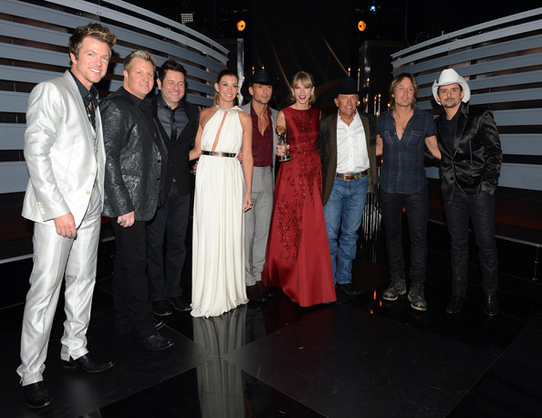 Backstage at the 47th Annual CMA Awards