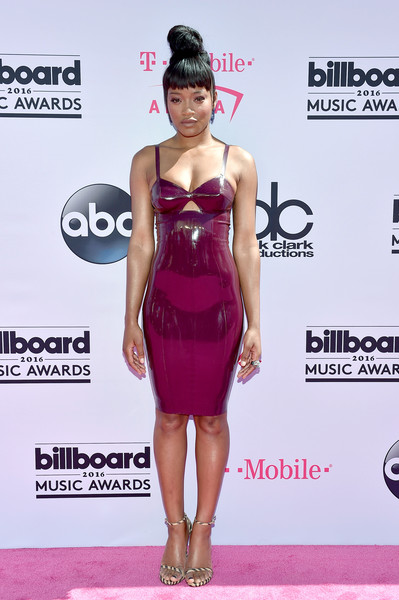Keke Palmer Form-Fitting Dress