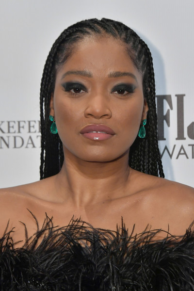 Keke Palmer Long Cornrows [hair,face,eyebrow,hairstyle,lip,black hair,beauty,skin,forehead,shoulder,keke palmer,gotham awards,cipriani wall street,new york city,ifp]