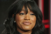 Keke Palmer Long Wavy Cut with Bangs