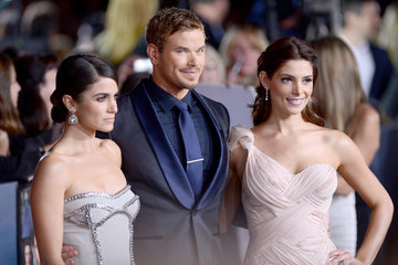 Kellan Lutz Ashley Greene The Red Carpet at the 'Breaking Dawn' Premiere