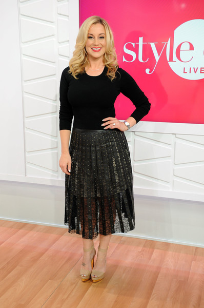 Kellie Pickler Sheer Skirt