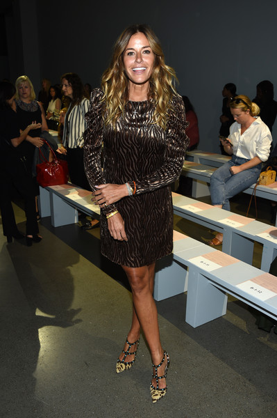 Kelly Bensimon Cocktail Dress [shows,fashion,clothing,fashion model,fashion design,fashion show,leg,dress,runway,event,footwear,elie tahari,ellie tahari,kelly bensimon,front row,front row,new york city,spring studios,the showsat gallery ii,new york fashion week]