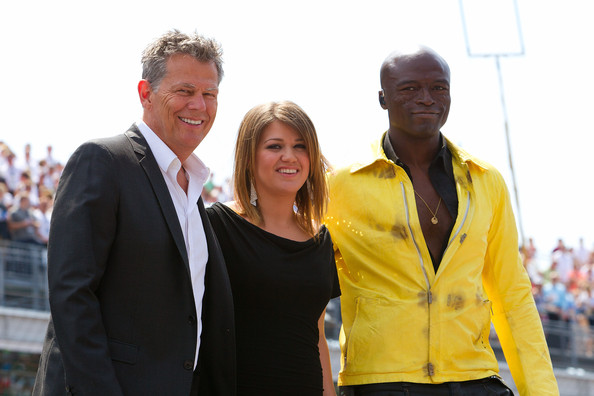Celebrities Attend The Indianapolis 500 Mile Race