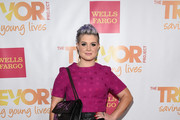 Kelly Osbourne Quilted Leather Bag