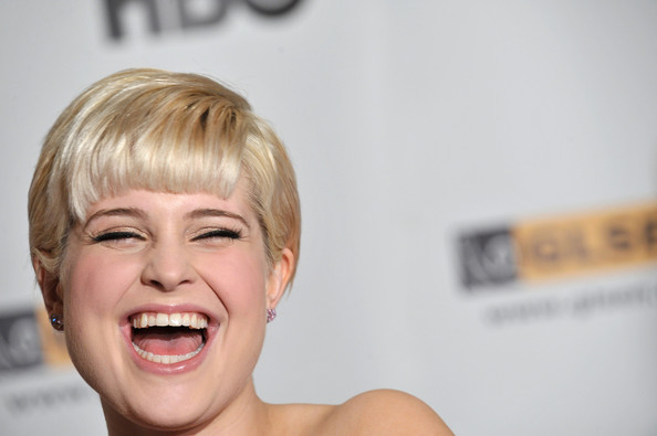 Kelly Osbourne Short Cut With Bangs