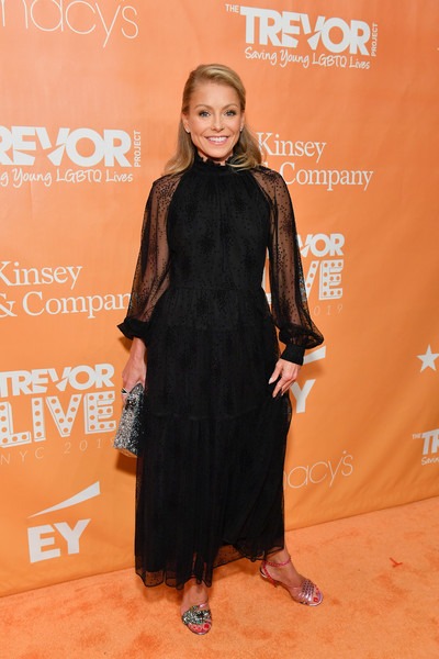 Kelly Ripa Studded Heels